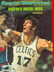 First NBA Game – Kareem's Bucks v. Celtics(2/10/74)