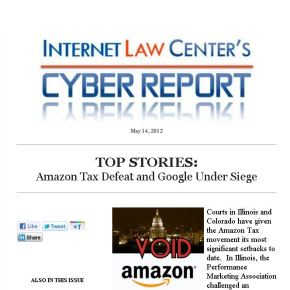 New Cyber Report: Amazon Tax, Google Under Siege andMore