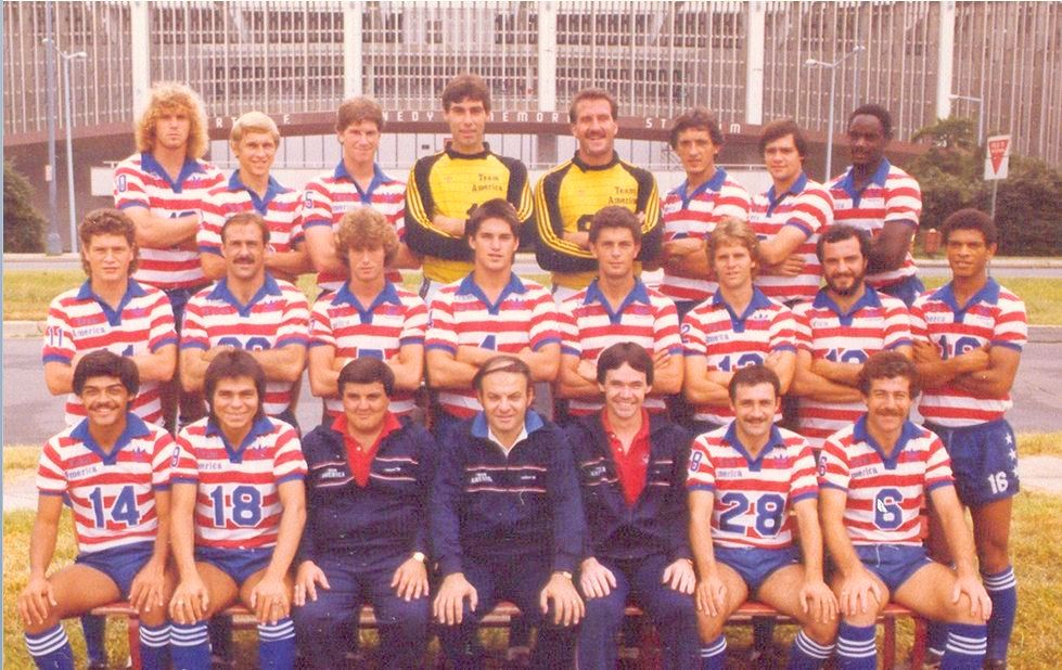 First NASL Game: Team America and the Beach Boys (June 12, 1983) | Bennet  Kelley's Clippings & More
