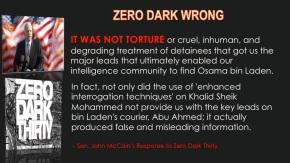 Zero Dark Wrong
