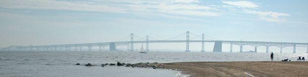 CC - Mike DelGaudio Chesapeake Bay Bridge - Pano