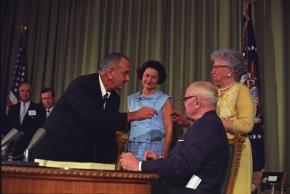 LBJ, Reagan and the Great AmericanParadox