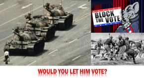 New HuffPost Column: Tankman, the GOP and Voting Rights