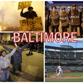 Baltimore Explodes. What Next?