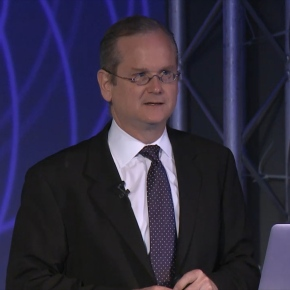 Lawrence Lessig: The problem with American democracy in threecharts