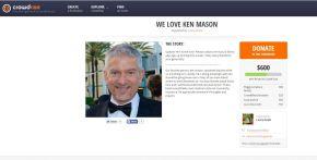 Ken Mason's CrowdRiseCampaign