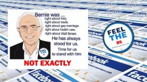 Debunking Sanders' MisinformationMemes