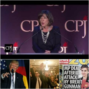 Christiane Amanpour: Stop Banalizing the Truth and Fight Normalization of the Unacceptable