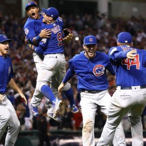 Cubs Win, ThanksObama.