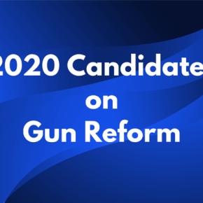 The 2020 Candidates on GunReform