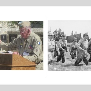Len Lazarick Sr, 3-Time Purple Heart Recipient, a Reminder That Time and COVID Are Taking Our Last WW2 Vets